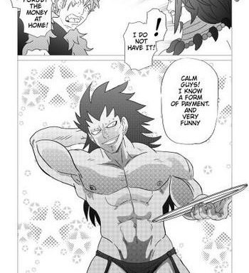 gajeel getting paid cover